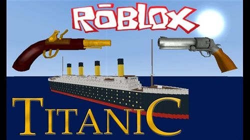 Roblox Titanic. A game where you survive the sinking of the titanic