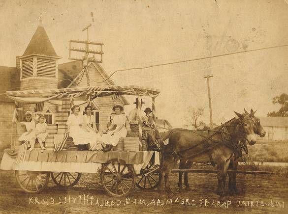 Blytheville Arkansas Blytheville Ar Creamery Float In Early 1900 S Parade Arkansas Travel Blytheville Arkansas Historical Events