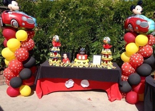 mickey mouse attractions for 1st birthday party - Google Search