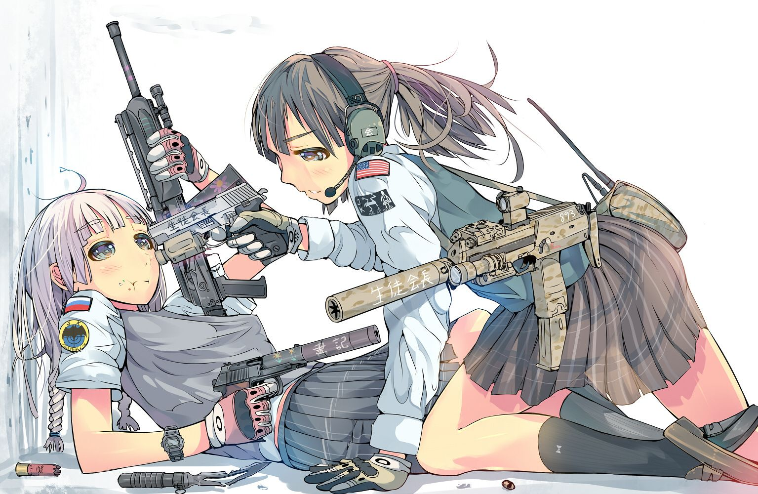 Military girls anime - Gun girl anime ...