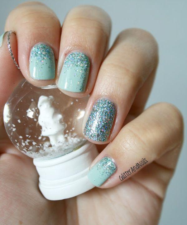 Winter Wonderland Nails Love Teh Cool Nail Design Indigo