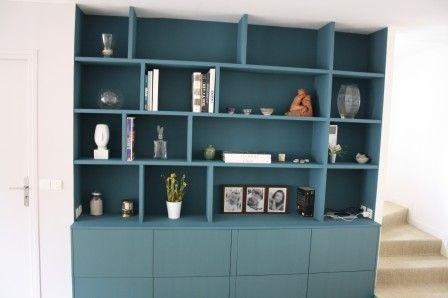 toutes les astuces pour faire sa propre bibliothèque en bois - Meuble Bibliotheque Maison Du Monde