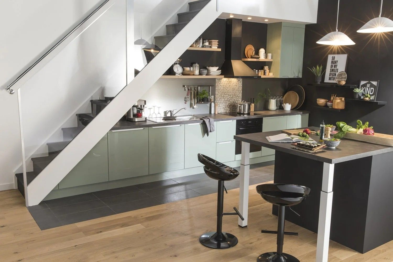 pin by morgan dixon on potential house in 2019 kitchen under stairs stairs in kitchen on kitchen under stairs id=89984