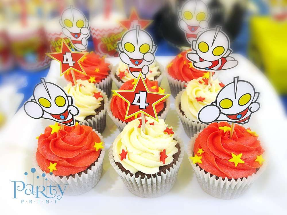 9 best aidils 2nd ultraman birthday party images on pinterest 2nd ultraman birthday party ideas stopboris Images