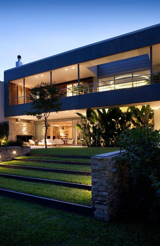 Pricila house by estudio mart n g mez arquitectos architecture pinterest casas casas - Maison pricila martin gomez ...