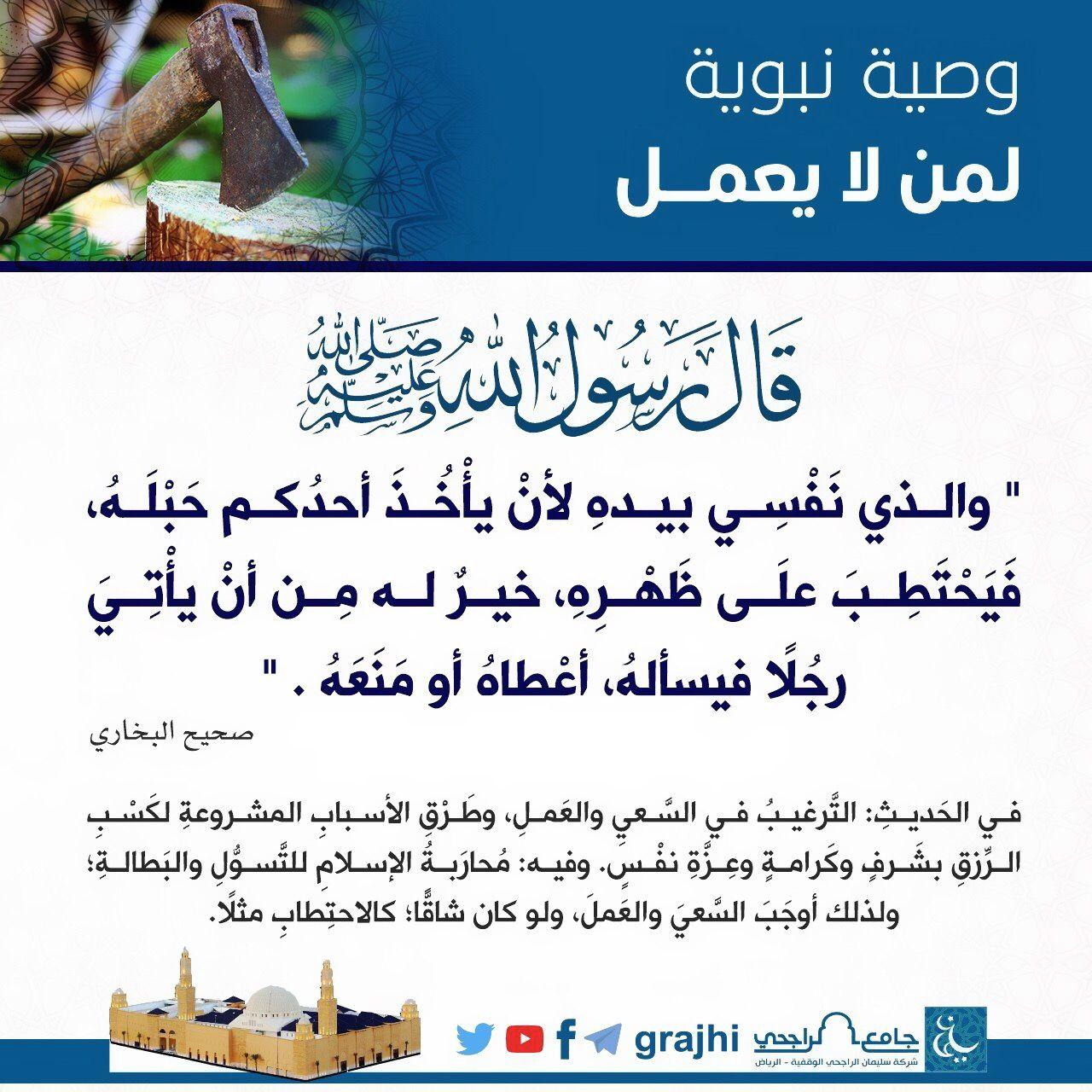Pin By نشر الخير On أحاديث سيدنا محمد صلى الله عليه وسلم Hadith Islam