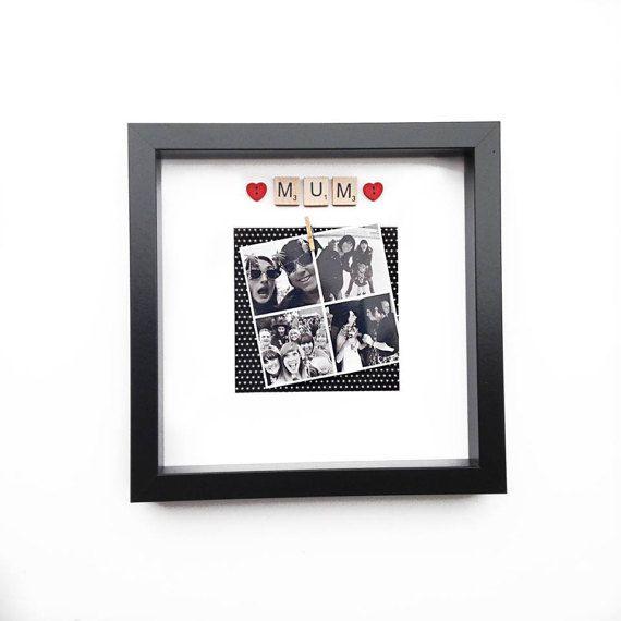 Mum Photo Frame- Personalised Selfie Frame- Photo Booth Frame ...