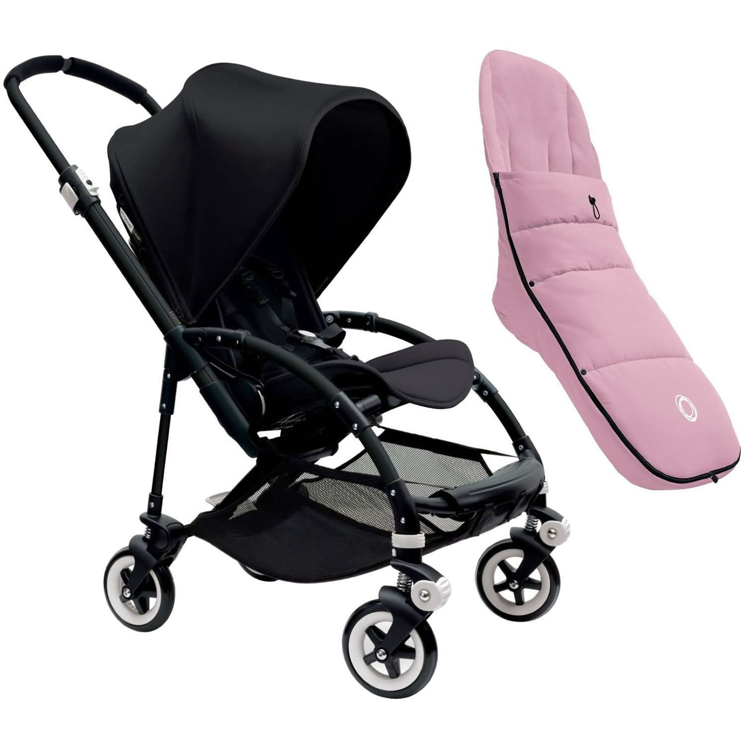 Bugaboo Bee3 Stroller Black Black Black with Bugaboo