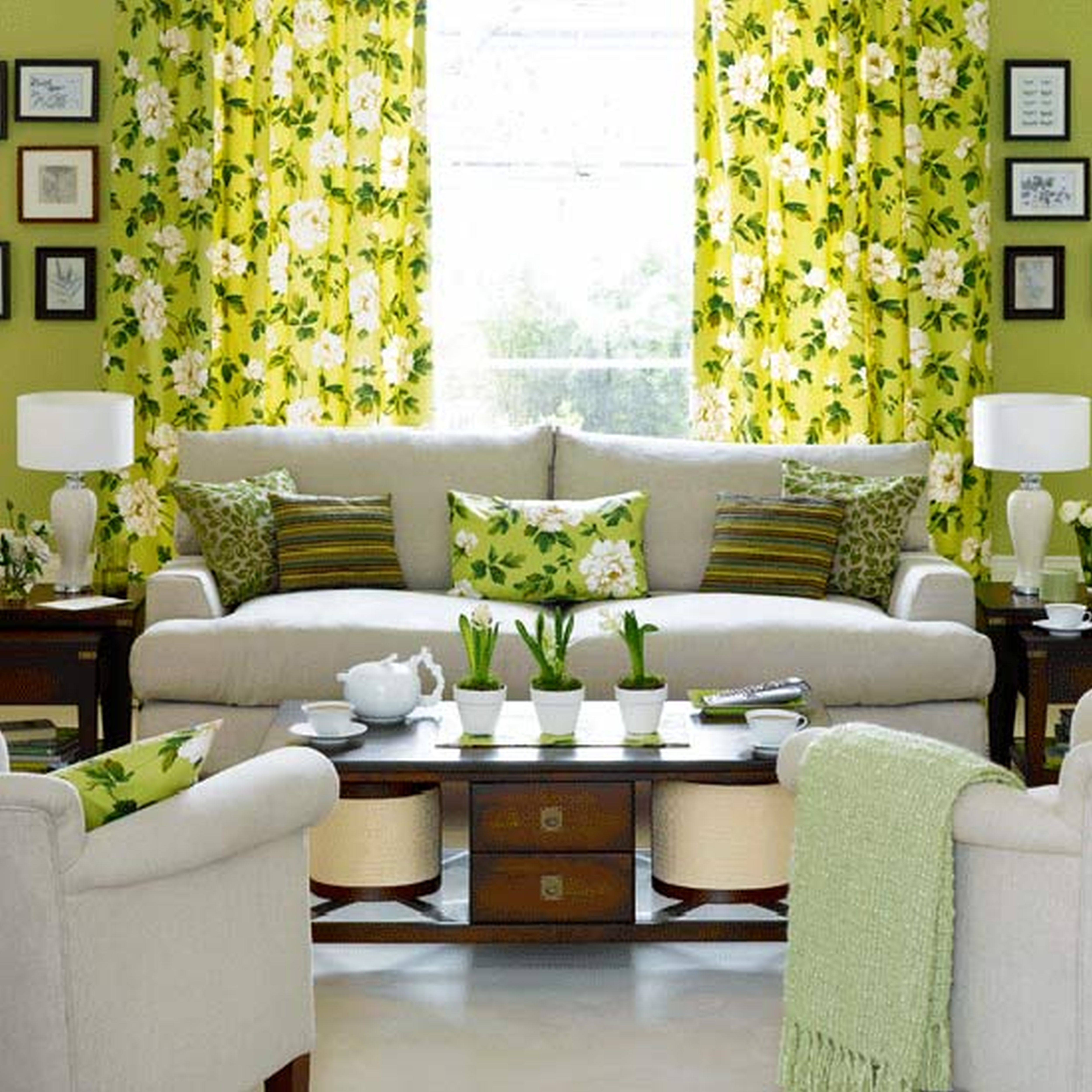 Room These Bright Drapes