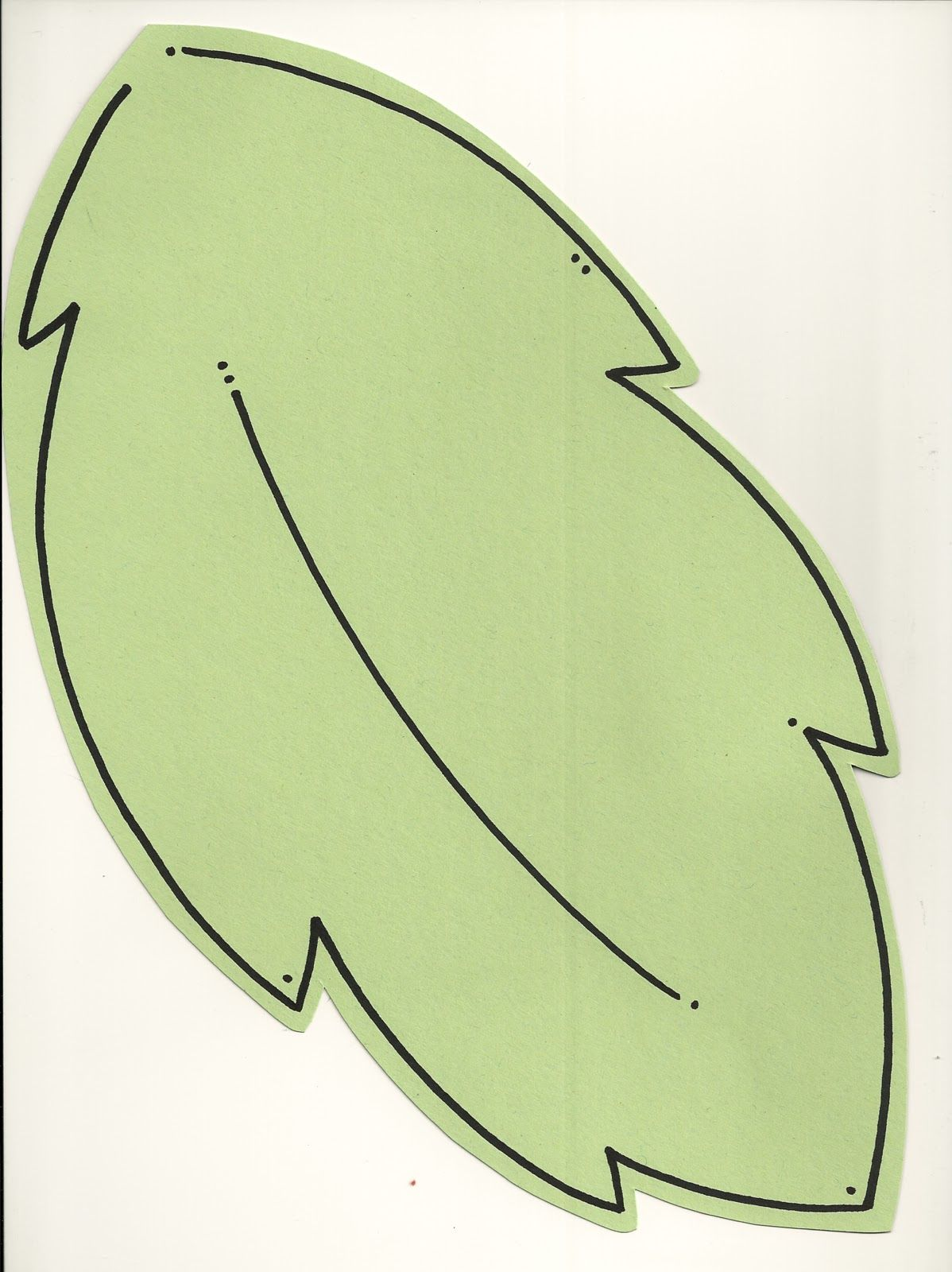 Printable leaf template family tree project | interesting ...