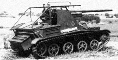 Romanian TACAM T-60 tank destroyer