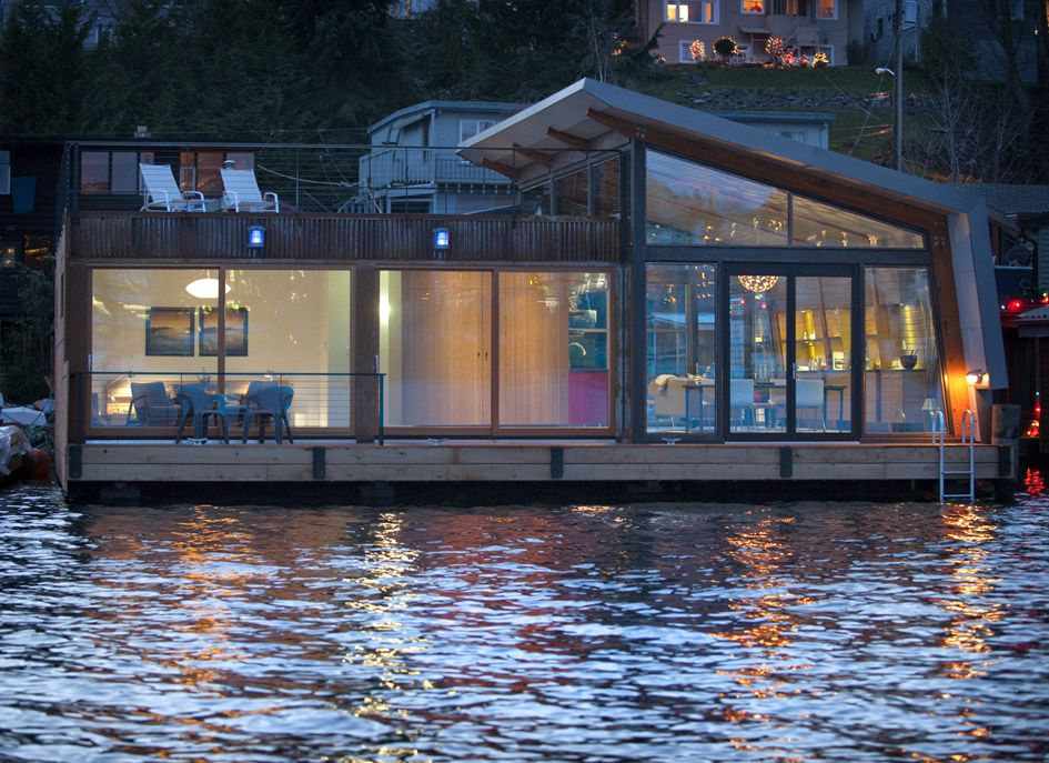 Floating Home Interiors For West Coast Living Floating House