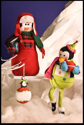 PingÜinos. Revista Kena la Navidad.