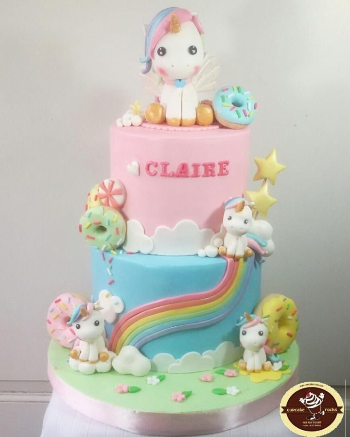 Donut Unicorn by astrid | Cakes & Cake Decorating ~ Daily ...