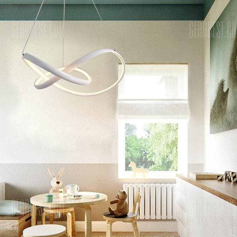 Modern Nature White Led Pendant Light Chandelier Ceiling Lighting Fixture For Living Kitchen Kids Bedrooms Dining Room Sale Price Reviews With Images Ceiling Light Fixtures Ceiling Lights Lamps Living Room