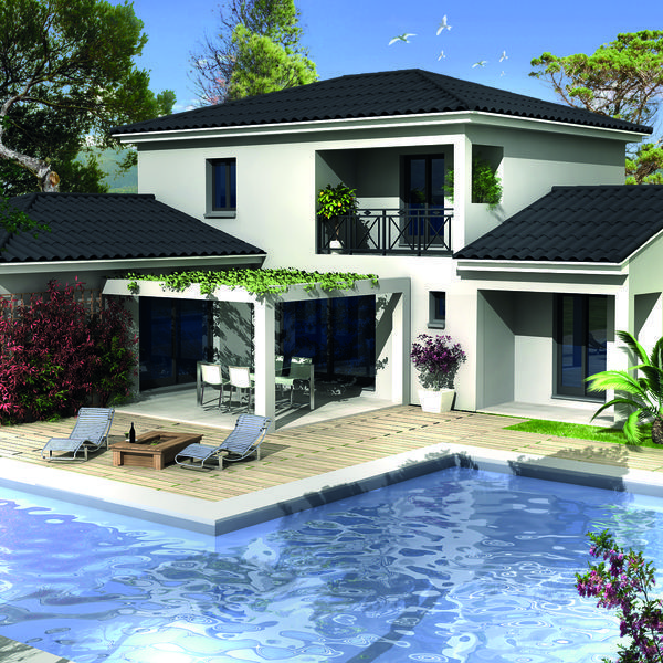 Modèle de maison Sofia -  Retrouvez tous les types de maison à