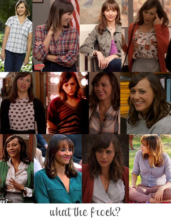 I love Rashida Jones in Parks and Rec  Anne Perkins has the