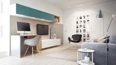 Aménagement d\'un appartement de 60m2. | déco | Pinterest ...