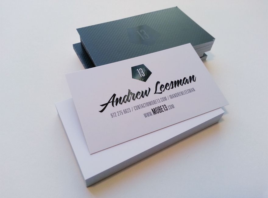 Mobe13 Business Cards
