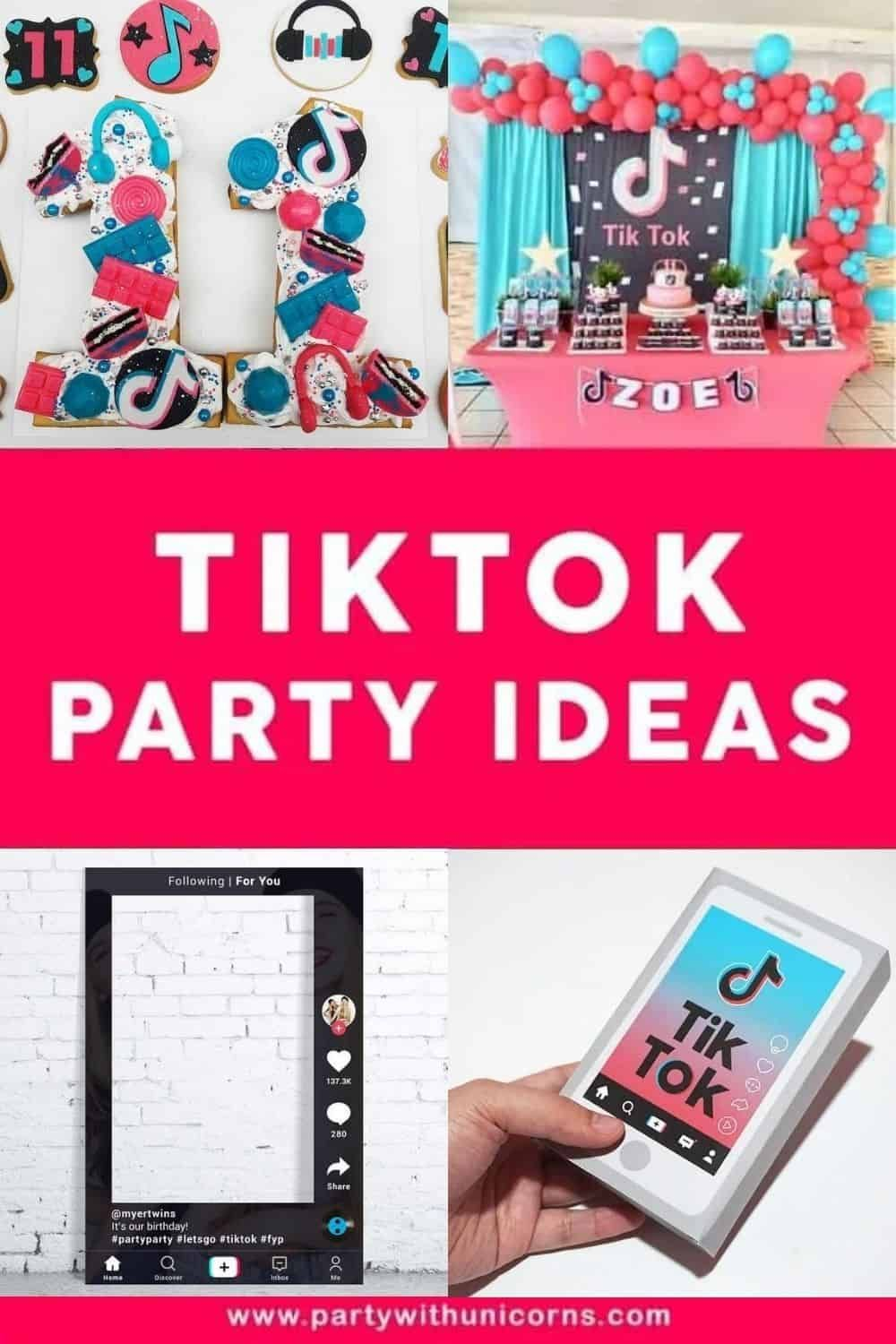 Tiktok Party Ideas Decorations Games Favors More Kids Birthday Party Entertainment Kids Party Games Birthday Party Games