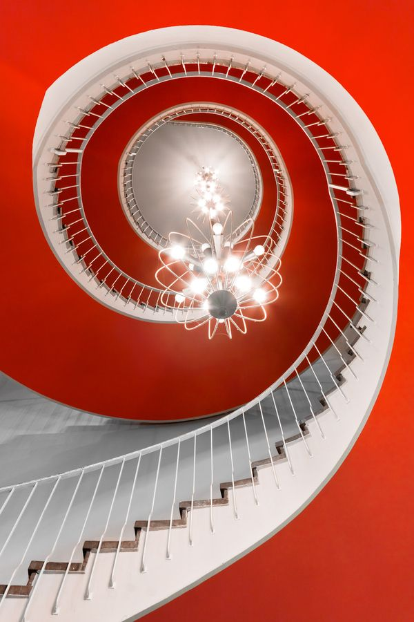 Treppen Stairs Escaleras #red #rot