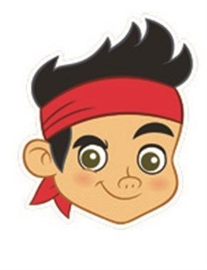 jake and the neverland pirates template - Google Search