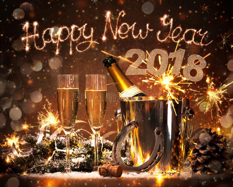 Download New Years Eve celebration stock photo. Image of