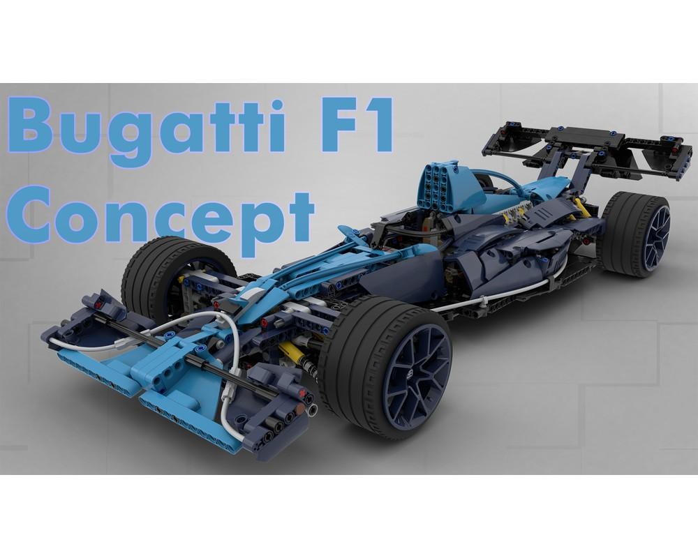 Bugatti F1 Concept 42083 B Model Alternate Build Bugatti Lego Technic Lego