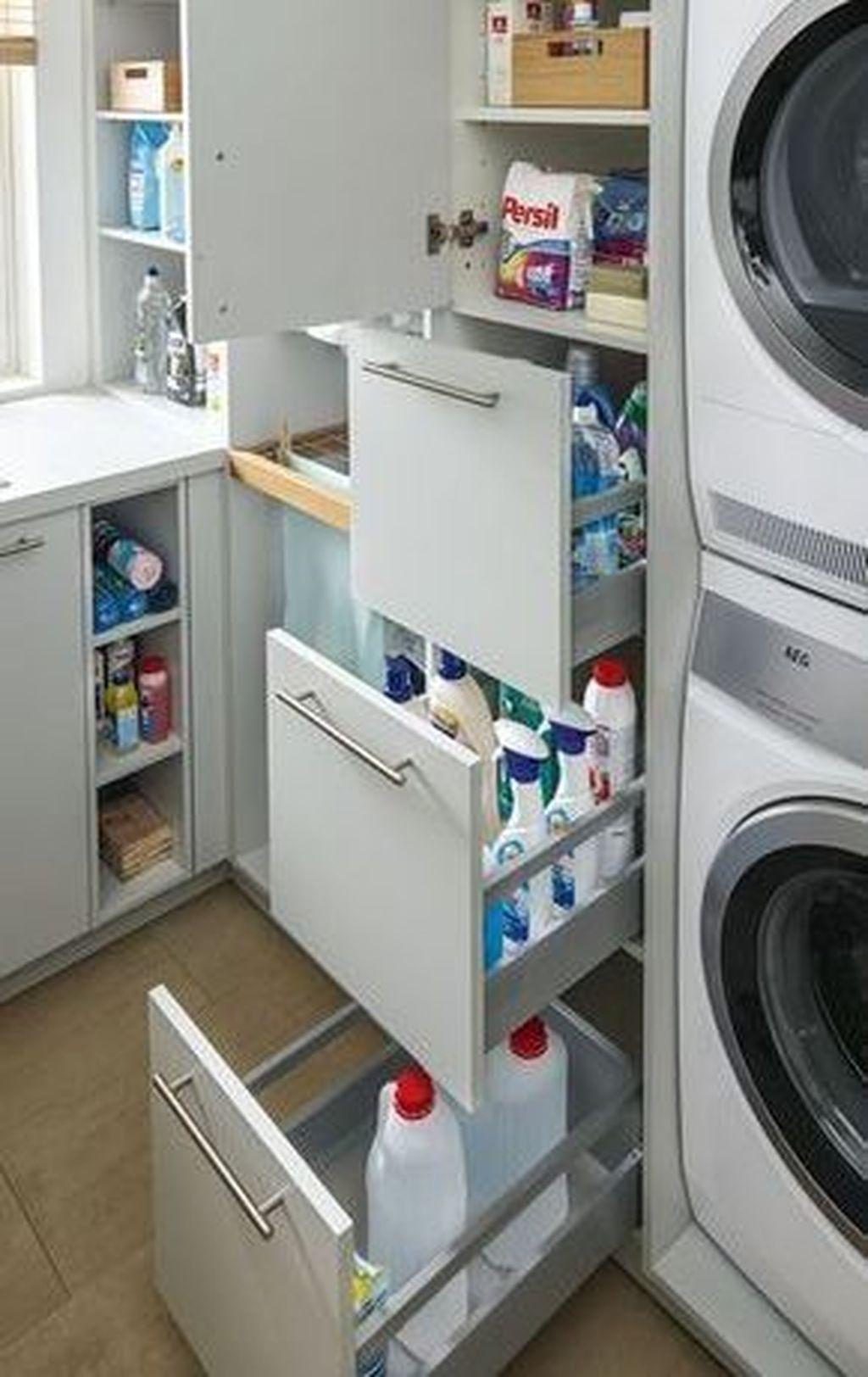 49 Gorgeous Laundry Room Storage Organization Ideas Home