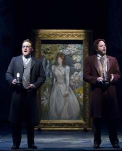"Noel Anthony as ""Neville"" and Joe Cassidy as ""Archie"" in THE SECRET GARDEN at TheatreWorks."
