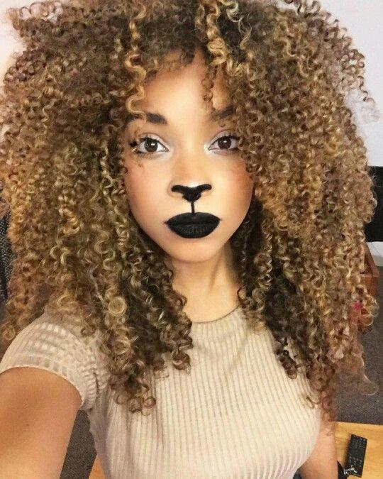Coupe de cheveux lion