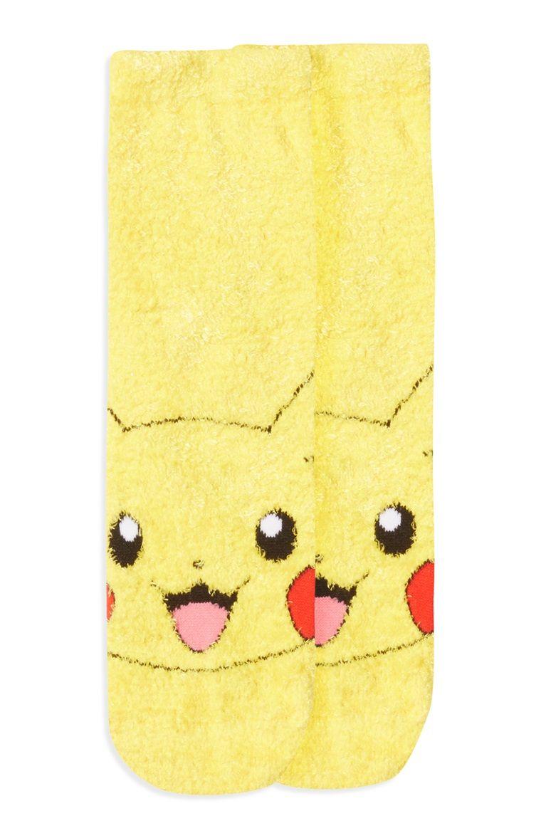 Warme Pokemon Pikachu-sokken