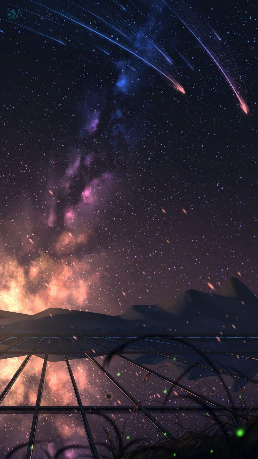 Starry night |  w a l l p a p e r  | Iphone wallpaper