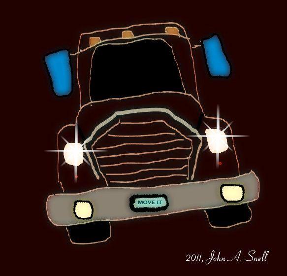 Trucker by BuddySnell.deviantart.com on @deviantART