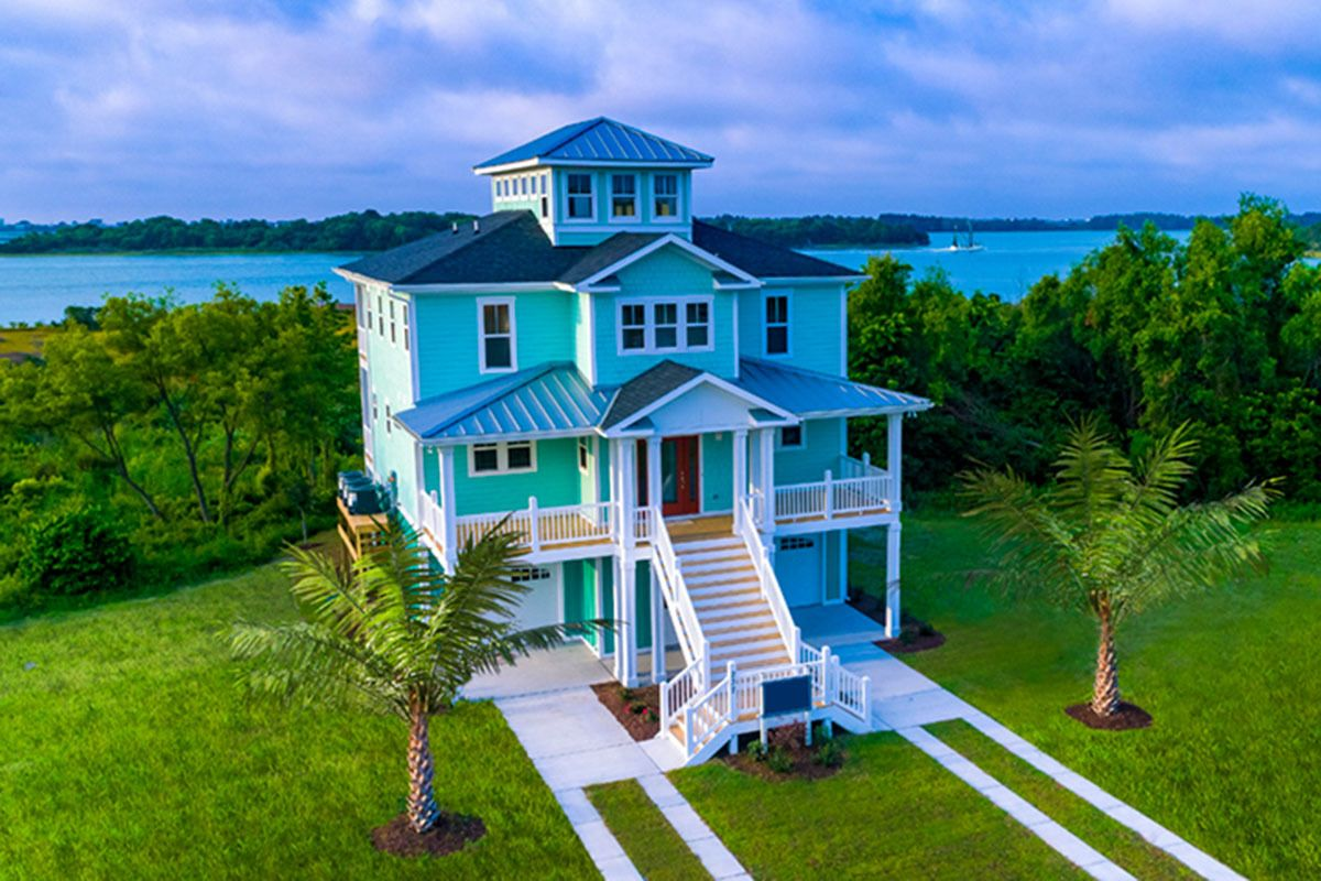 Beach House Plan With Cupola 15033nc Architectural Designs House Plans Beach House Floor Plans Coastal House Plans Beach House Plan