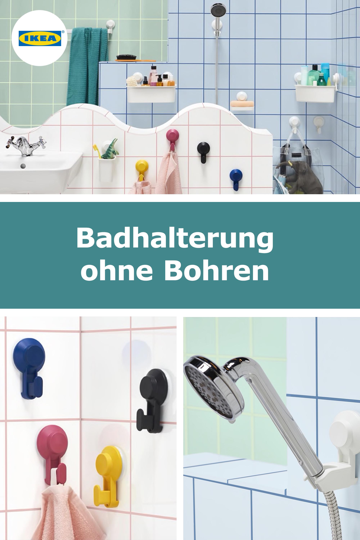 Schone Bad Accessoires Ohne Bohren Ikea Ideen Bad Bohren