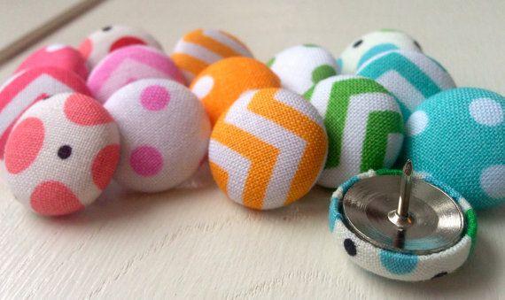 Push Pins,Pushpins,Thumbtacks,Thumb Tacks,Decorative Pushpins,Home Decor, Chevron,Office Decor,Rainbow Chevron,Teacher Gift,Coworker Gift