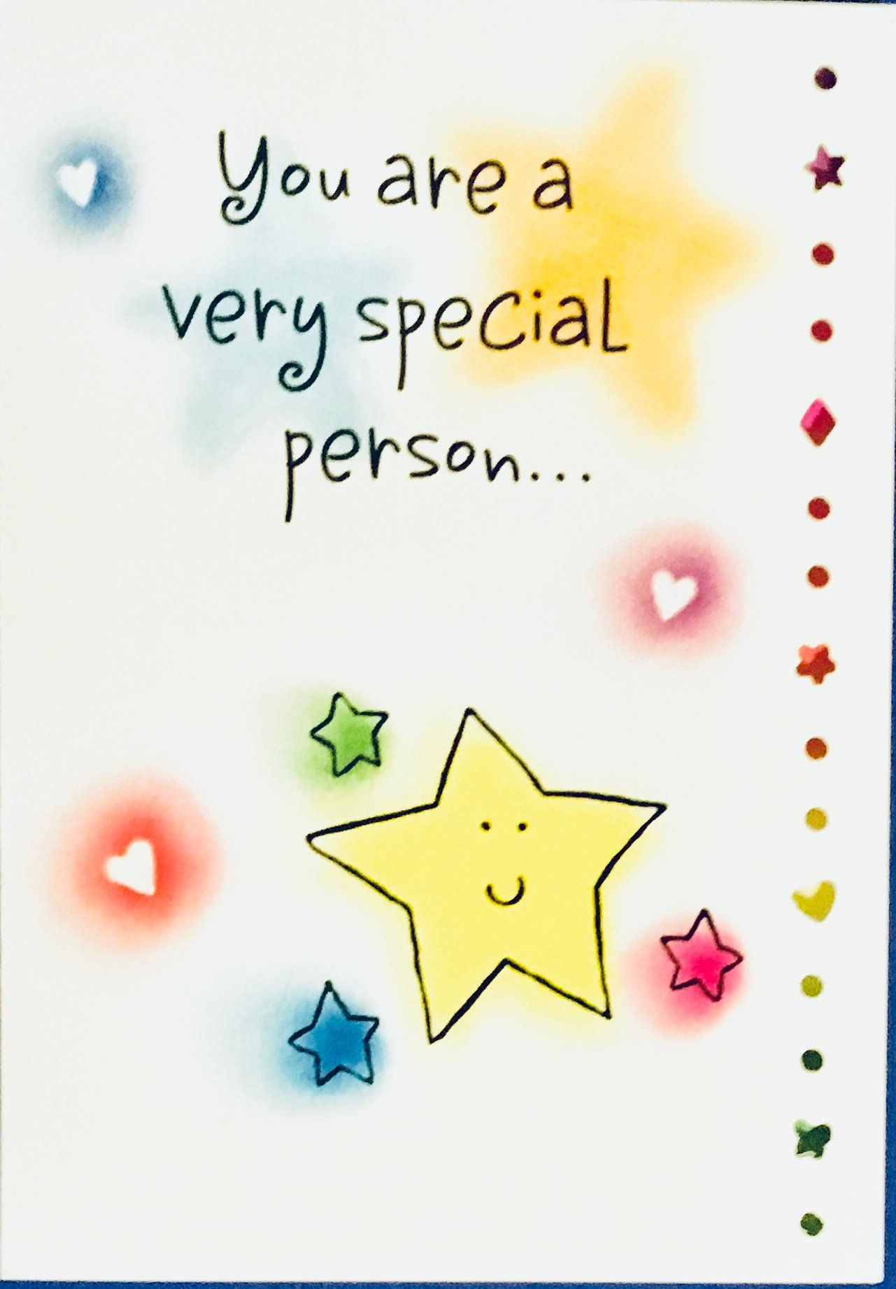 You Are Special Everyday Greeting Card Stationery Product