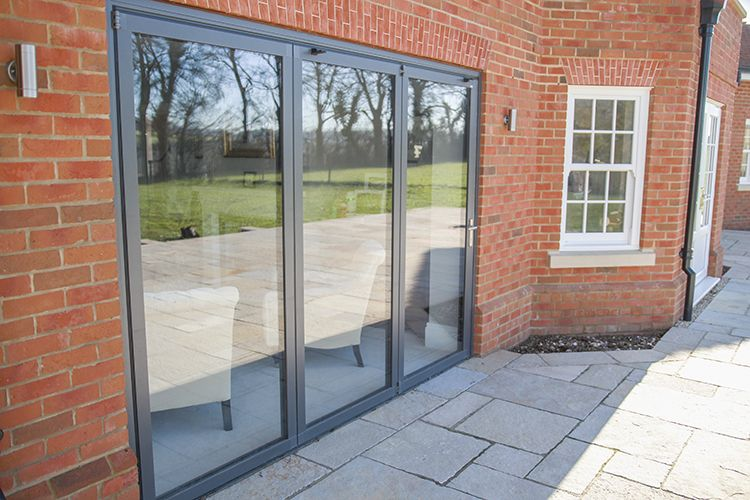 Solarlux SL60e Bi Folding Doors, Sliding Sash Windows, Evolution Storm 2  Timber Alternative Windows And French Doors, Tadley, Hampshire   Thames  Valley ...