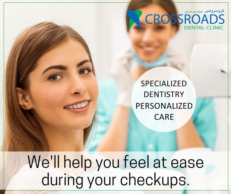 At Crossroads Dental Clinic, we care about our patients