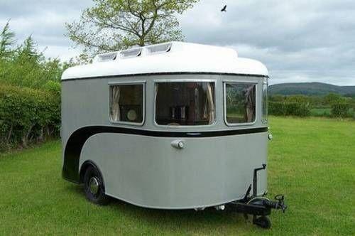 Elegant My Castle Caravan  Vintage Caravans
