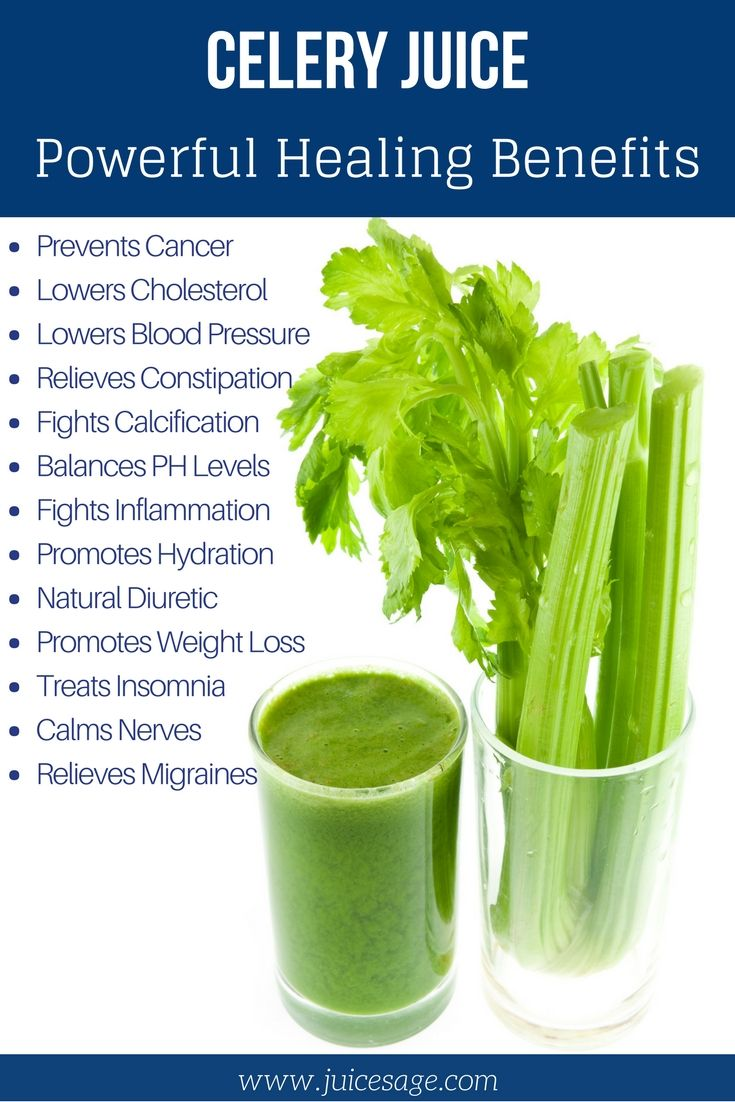 celery juice improves health. raw celery juice is rich in