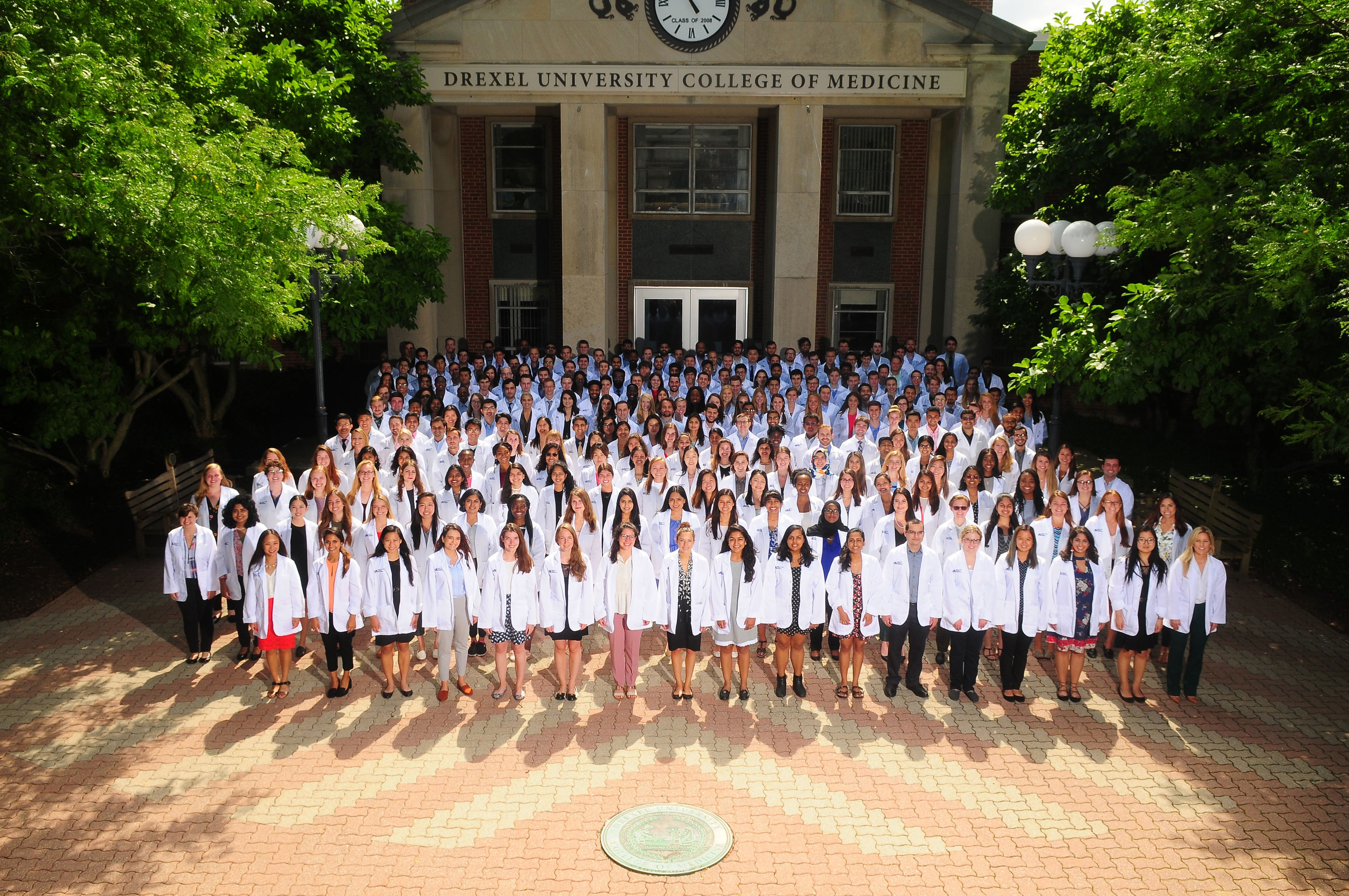 Drexel University College of Medicine's MD Class of 2022 in