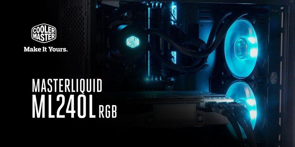 Cooler Master Launches Liquid Ml240l Rgb And Ml120l Rgb Rgb Led Lights Cooler Master Led Lighting System