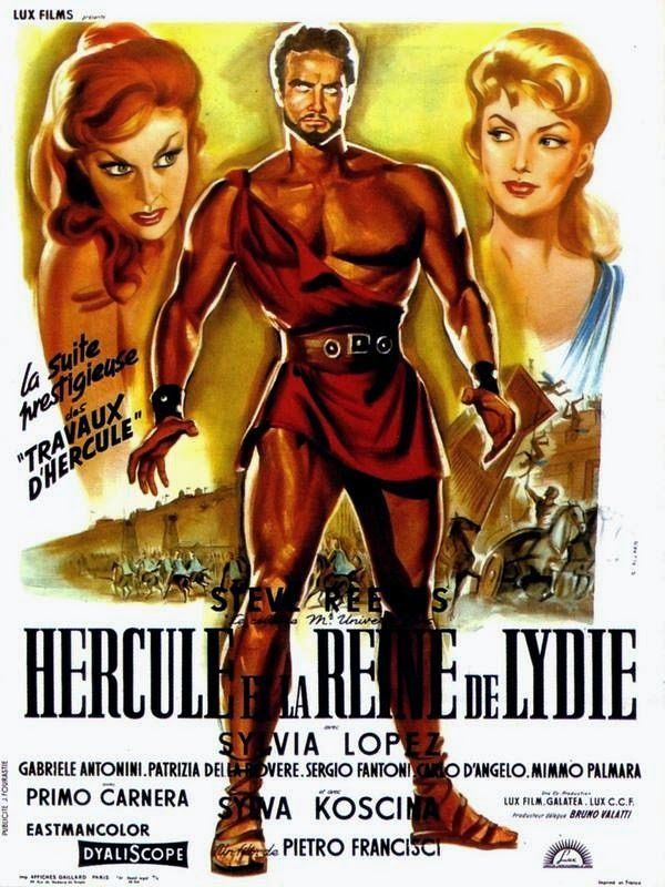 Great Movie Posters Hercules The Peplum Years Sword And Sandal