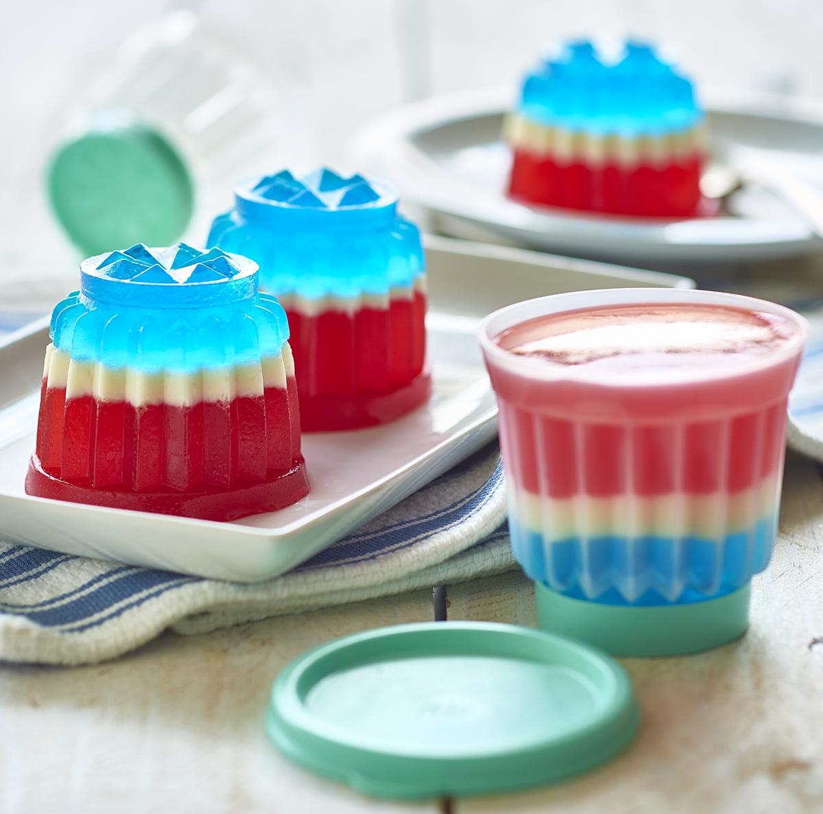 Jel-ette™ Molds. Happy 4th Of July!
