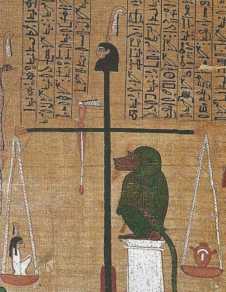 Weighing Of The Heart Egypt Art Egyptian Art Ancient Egypt