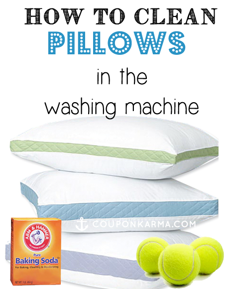 The best way to clean pillows in the washing machine ...