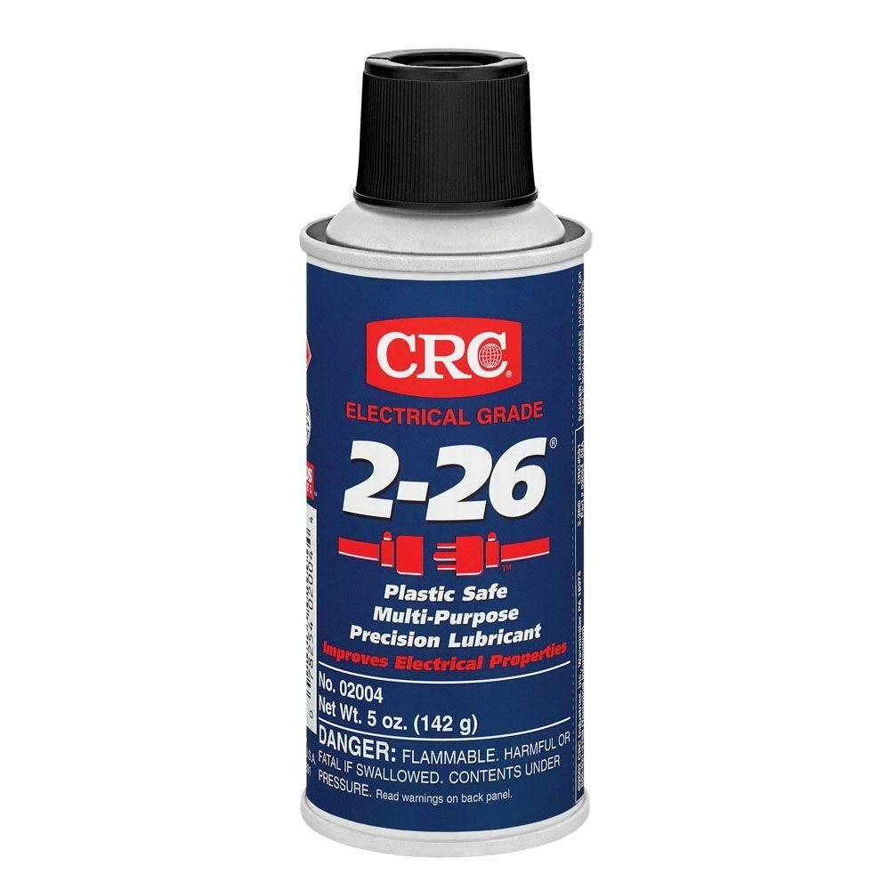 Crc 2 26 5 Oz Multi Purpose Lubricant 02004 The Home Depot Grease Lubricant Lubricant Slot Car Tracks