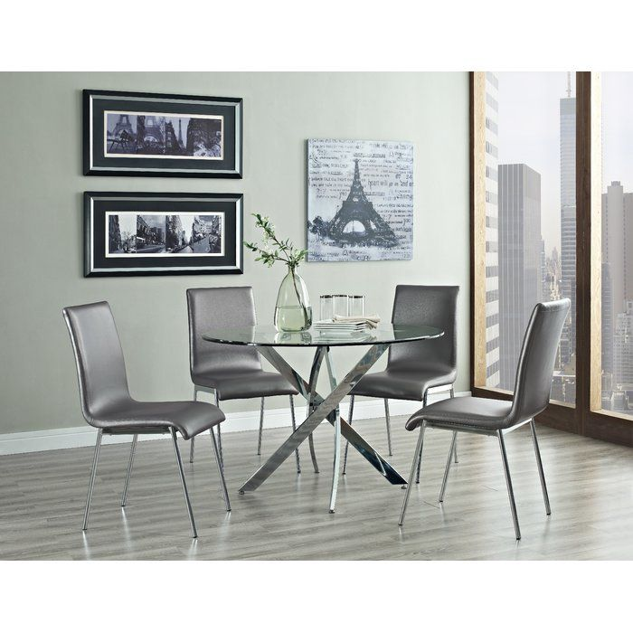 Oradell 5 Piece Dining Set Dining Room Sets Round Dining Table